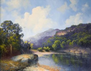 SOLD - Hill Country Bend by A. D. Greer