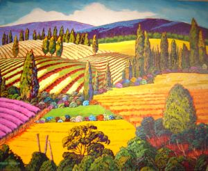Patterns of Summer by Gene Brown