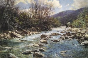 Upper Frio by Bob Wygant