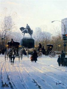 Avenue of the Americas by G. Harvey
