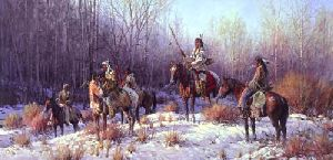 Weary Hunters by Martin Grelle