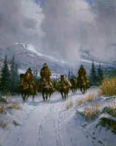 Bundled, Blessed & Headin' West by G. Harvey