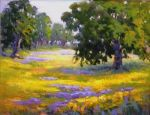 Wildflower Field, Original by Barbara Larimore
