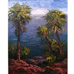 """Island Palms"" by Nancy Balmert"
