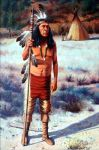 Standing Bear by Bill Scheidt