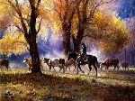 Autumn's Gather by Martin Grelle