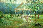 Carousel in the Park by L. Gordon