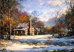 Early Snow by Larry Dyke