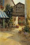 Bistro in Provence by L. Gordon