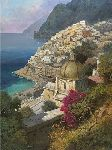 View in Positano by Giovanni DiGuida