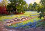 Bluebonnet Country, Original by Barbara Larimore