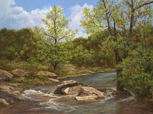 Cow Creek by Shirley Montgomery