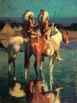 Cheyenne Camp by David Mann
