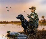 The Duck Hunters by Phillip Crowe