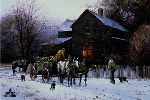 Wagonload of Warmth by Martin Grelle