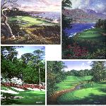 1996 Golf Miniatures by Larry Dyke