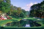 Morning at the 16th by Larry Dyke