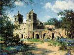 Mission Concepcion by Larry Dyke