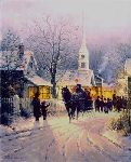 Village Carolers by G. Harvey