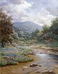 Secluded Spring by Larry Dyke