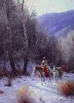 Wary Traveler by Martin Grelle