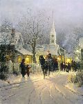 The Village Carolers by G. Harvey