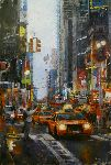 Hailing a Cab by Mark Lague