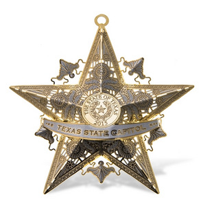 The Official Capitol of Texas Ornament 2015