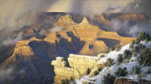 March, Yavapai Point by Robert Peters