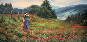Knee Deep in Poppies by June Dudley