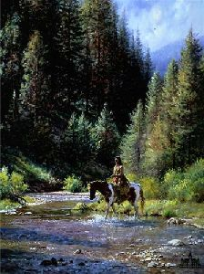 Shallow Crossing by Martin Grelle