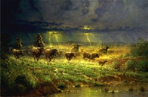 Rawhide & Thunder by G. Harvey