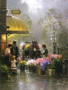 Holiday Flower Shop by G. Harvey